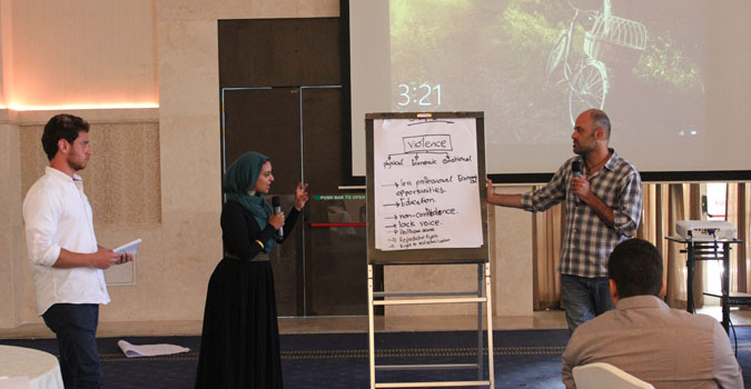 UN Women Jordan organizes a regional training on engaging men and boys in preventing gender based violence
