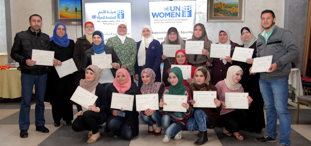 "UN Women's launches Training Workshop to Strengthen the Capacity of Social Worker to create ""Safe Spaces"" for Women in Host Communities"