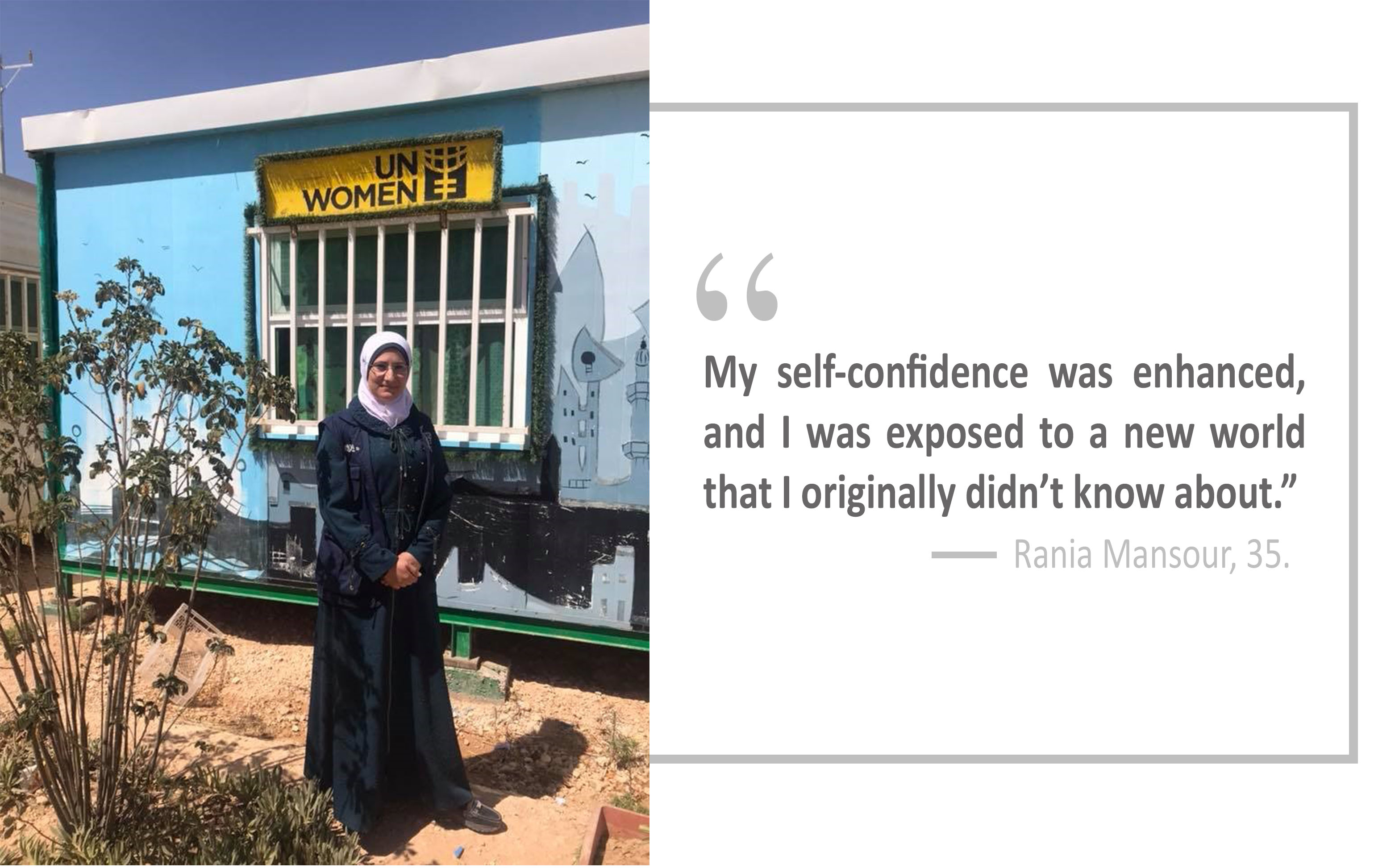 Meet the Syrian women taking the big LEAP