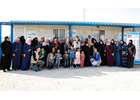 UN Women Deputy Executive Director visits Azraq refugee camp, meets with Government officials, Syrian refugee women and women leaders.