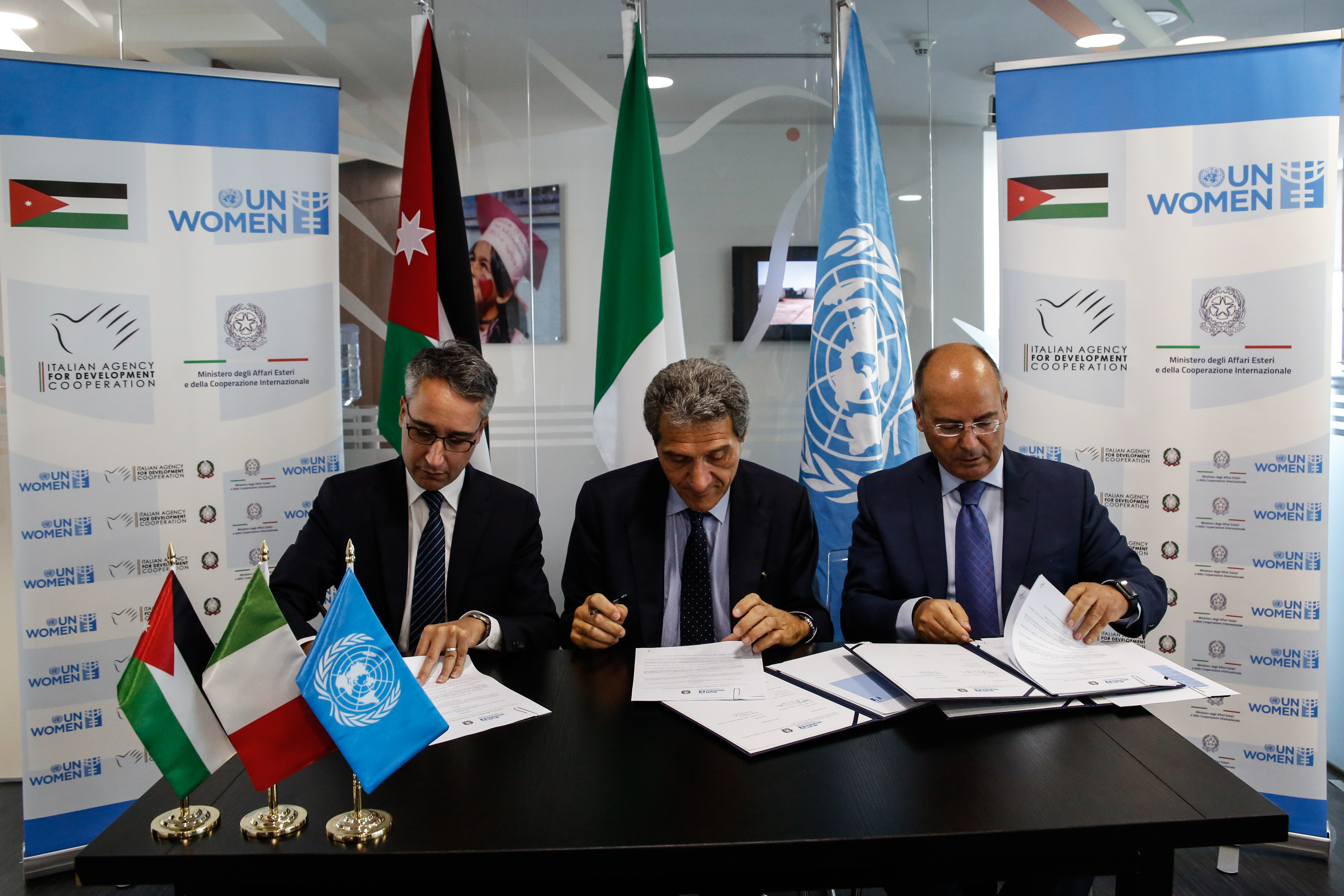 Government of Italy, UN Women announce partnership to strengthen institutional capacity on women's empowerment
