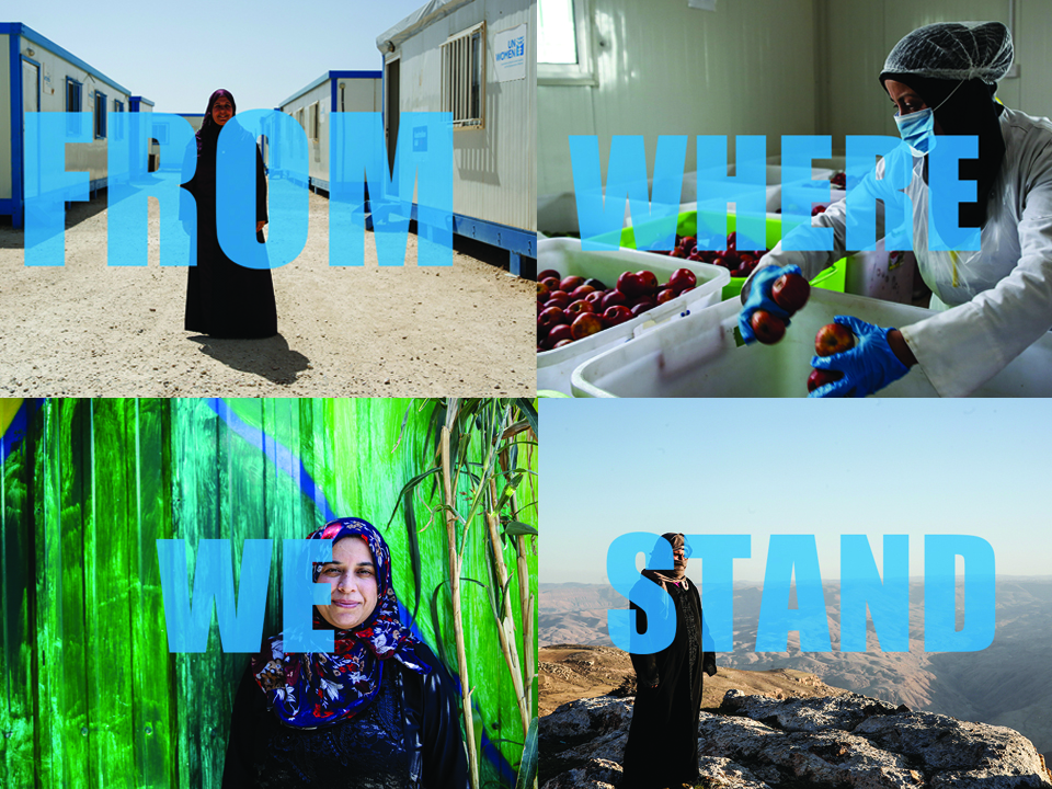From where we stand: Our journey of resilience and empowerment between two crises.