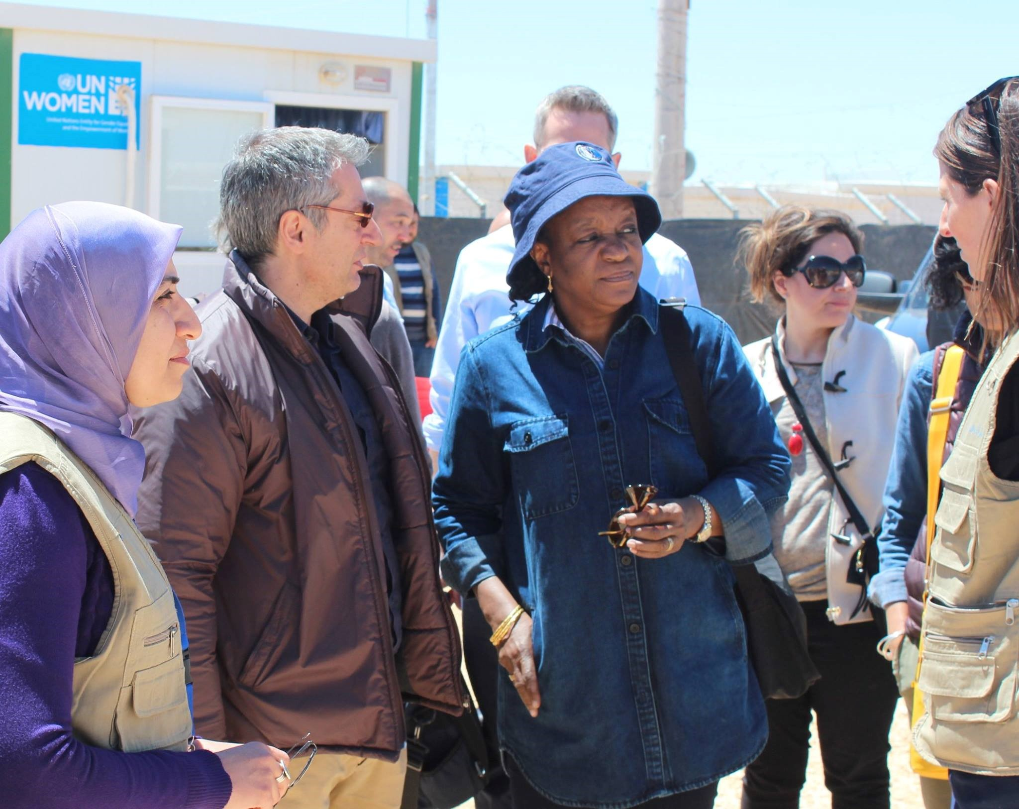 Special Representative of the Secretary General on Sexual Violence in Conflict visits Jordan for first time