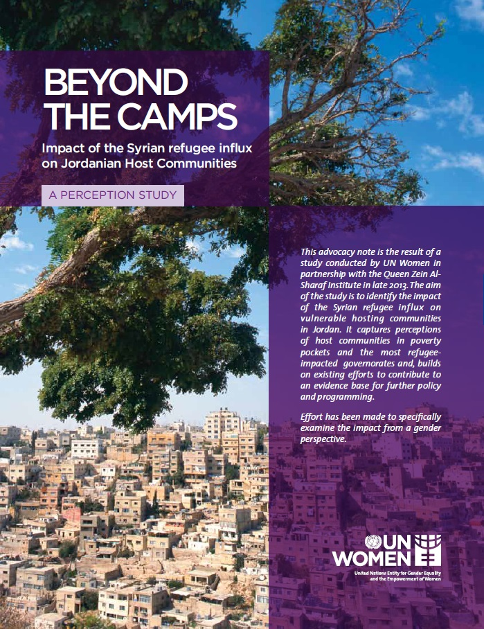 Beyond the camps: Impact of the Syrian refugee influx on Jordanian host communities