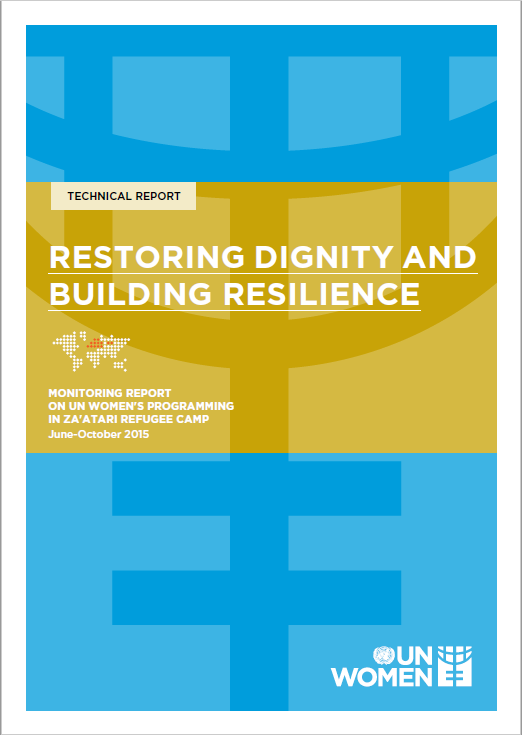 Restoring dignity and building resilience (Technical Report)
