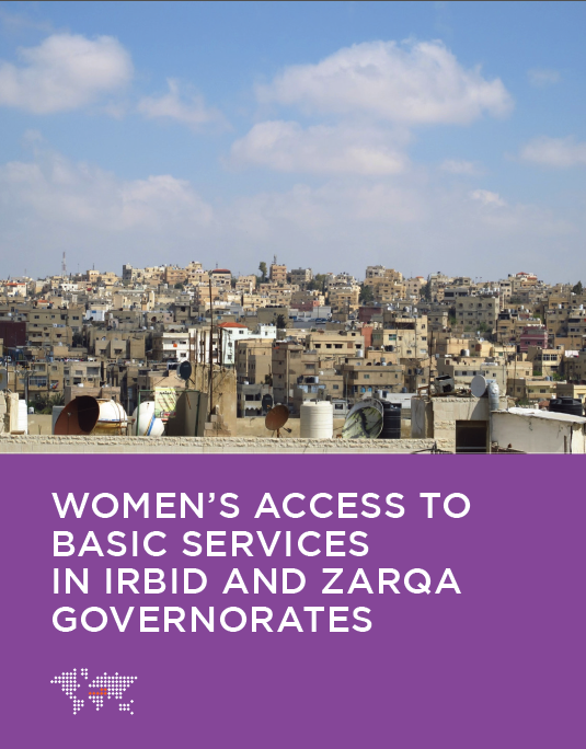women's access to basic services in Irbid and Zarqa