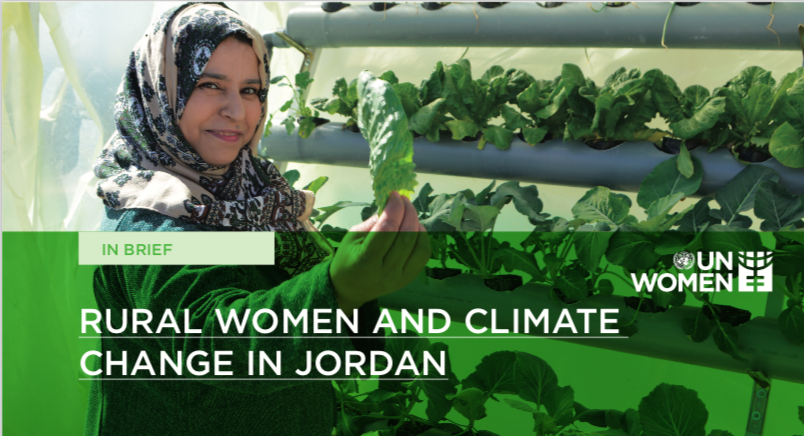 Rural Women and Climate Change in Jordan (Brief)