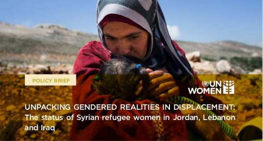 Unpacking Gendered Realities in Displacement: The status of Syrian refugee women in Jordan, Lebanon and Iraq (Brief)