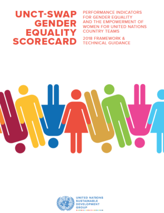 UNCT-SWAP GENDER EQUALITY SCORECARD