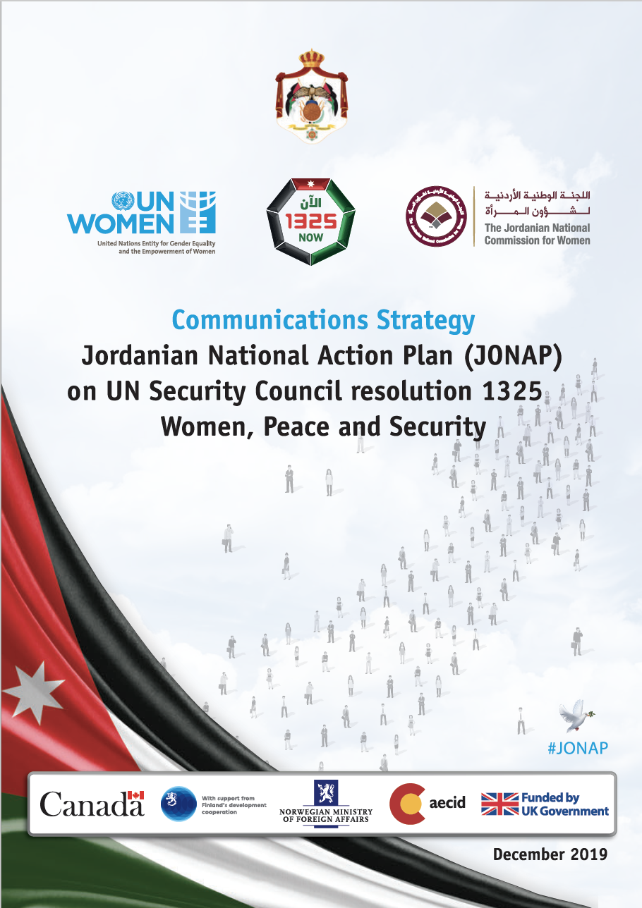 Communications Strategy - Jordanian National Action Plan for the Implementation of UN Security Council resolution 1325 on Women, Peace and Security