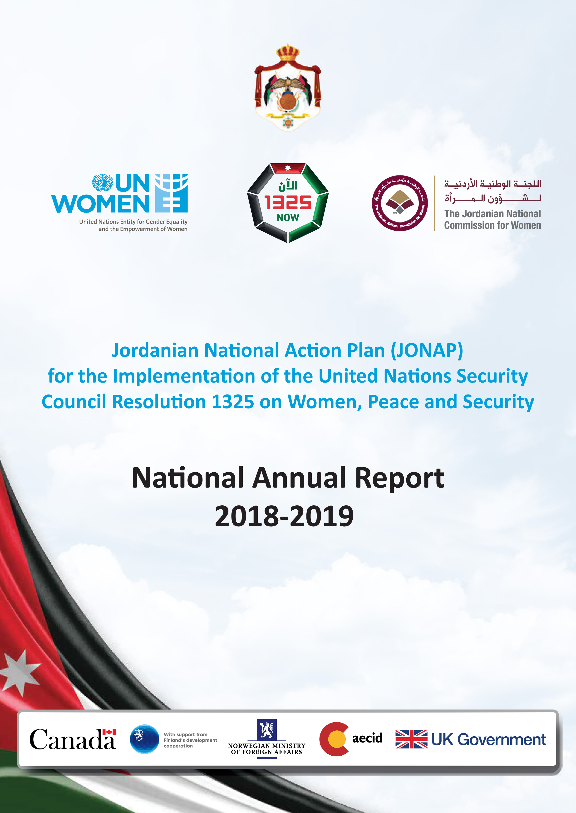 JONAP National Annual Report 2018-2019_cover