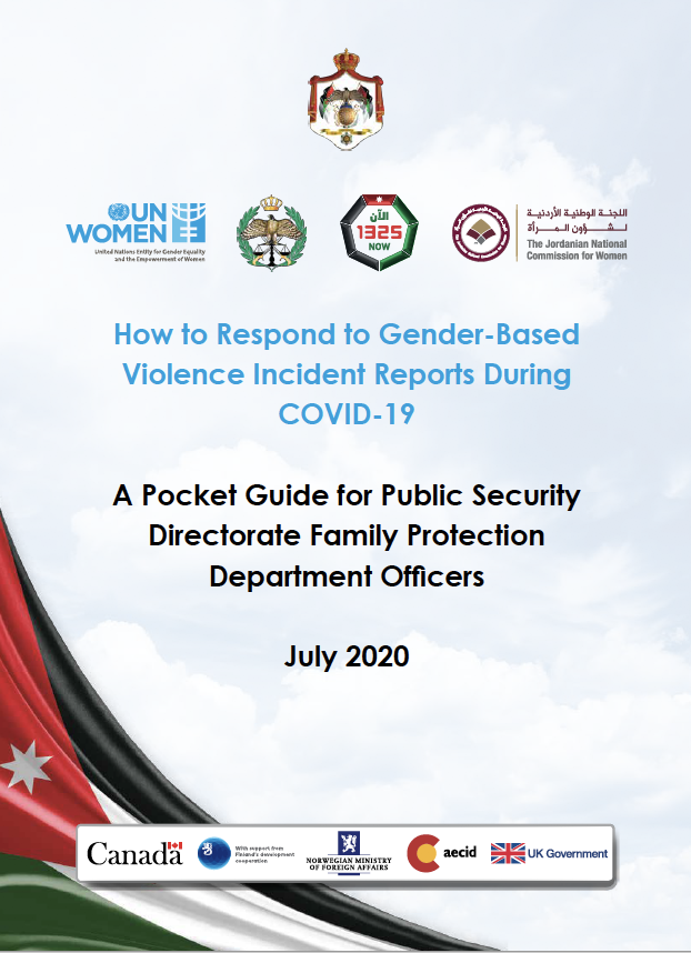 A Pocket Guide for Public Security Directorate Family Protection Department Officers