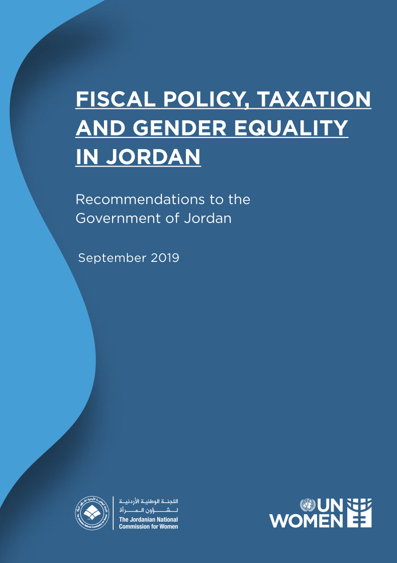 FISCAL POLICY, TAXATION AND GENDER EQUALITY IN JORDAN