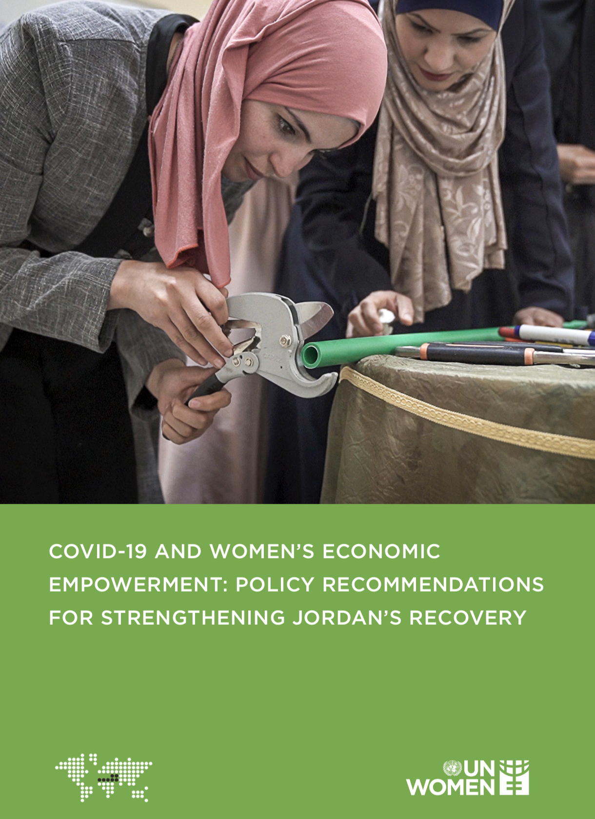 COVID-19 AND WOMEN'S ECONOMIC EMPOWERMENT: POLICY RECOMMENDATIONS FOR STRENGTHENING JORDAN'S RECOVERY, Research Paper, UN Women.
