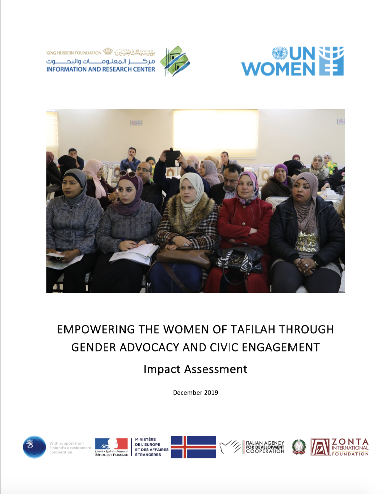 Empowering the women of Tafilah through gender advocacy and civic engagement