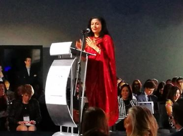 "Lakshmi Puri, Deputy Executive Director of UN Women speech at the Forum Forbes ""Powerful Women"" 2016"