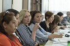 Over 140 women from different regions of Moldova, interested in participating in national and local decision-making, can benefit from trainings under 'Women 4 Leadership' Project.