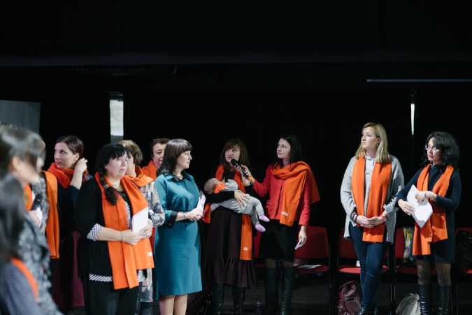 Moldovans Join Forces to End Violence against Women and Girls