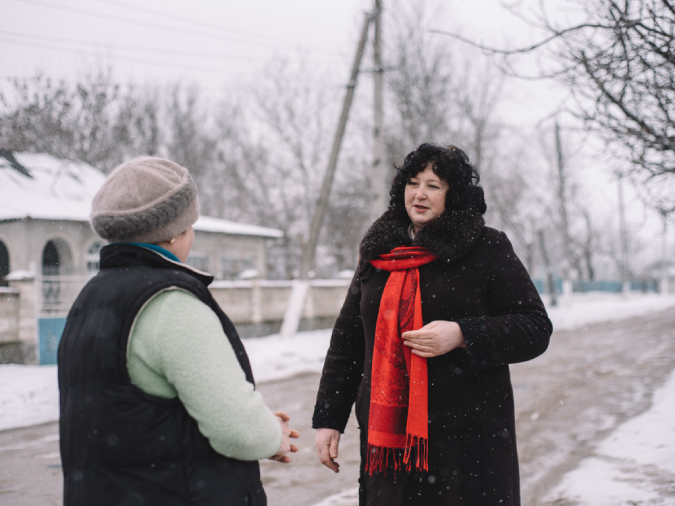Svetlana Mantea, local councilor from Moldova who challenges gender stereotypes