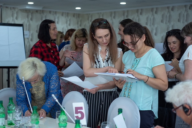 GRB watchdog reporting civil society training in Moldova