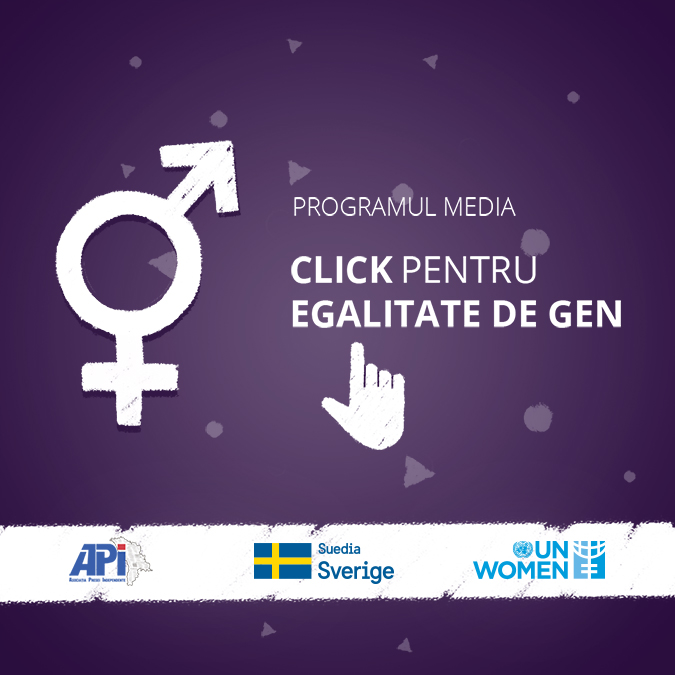 """""""Click for Gender Equality"""" Media Programme launched in Chisinau"""