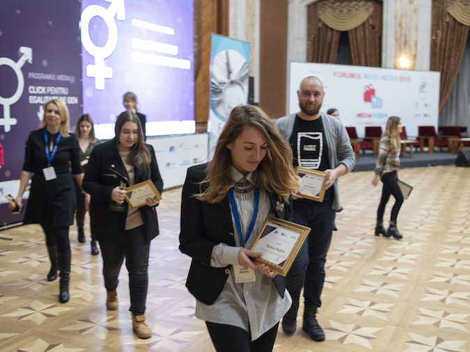 Click for Gender Equality Media Programme - Award Ceremony, Moldova
