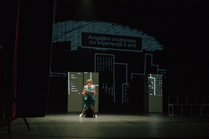 """Liberă"", a theater performance about prejudices and stereotypes, played in Chisinau, Moldova"