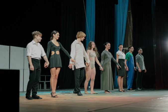 """""""Liberă"""", a theater performance about prejudices and stereotypes, played in Chisinau, Moldova"""