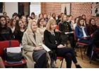 Hundreds of Moldovan school girls, face-to-face with female IT experts