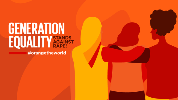 """UN Moldova joins the campaign """"Orange the World: Generation Equality Stands Against Rape"""""""