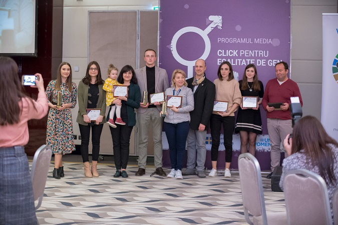 """Winners of  """"Click for Gender Equality"""" contest have been awarded for their merits in promotion of gender equality"""