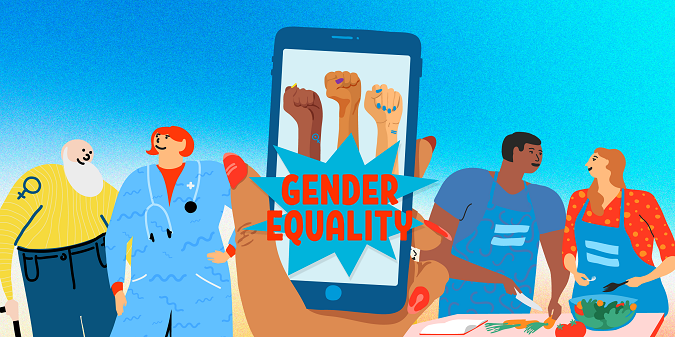 Gender equality starts with you: Nine ways you can keep up your activism from your couch