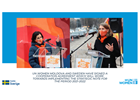UN Women Moldova and Sweden have signed a Cooperation Agreement that will allow the implementation of the Strategic Note for the period 2021-2022
