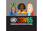 The priorities established by the 65th Commission on the Status of Women