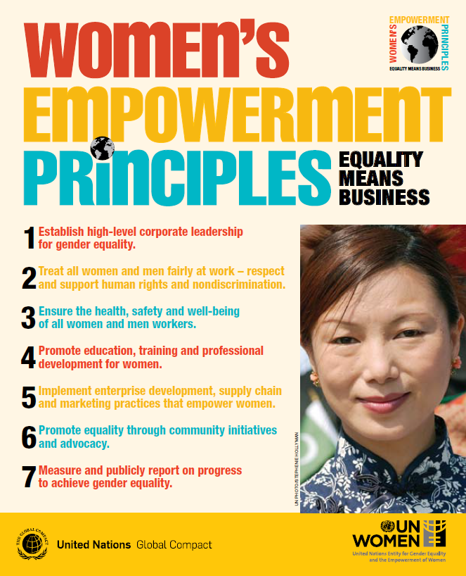 Women's Empowerment Principles — Equality Means Business