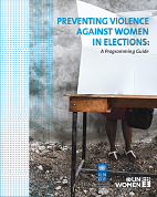 Preventing Violence Against Women In Elections