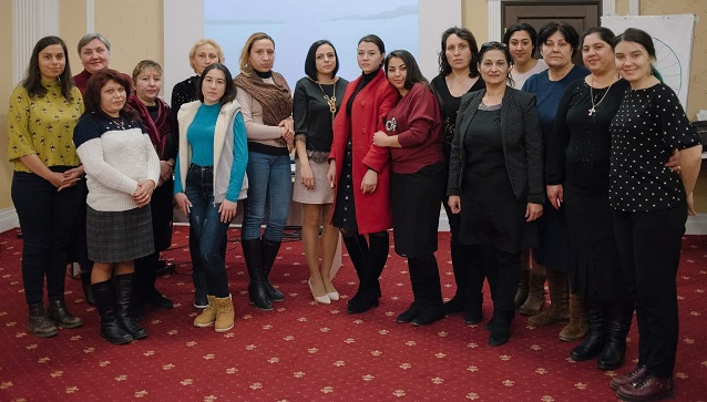 Women from different ethnic groups are publicly appealing to the Government for genuine gender equality