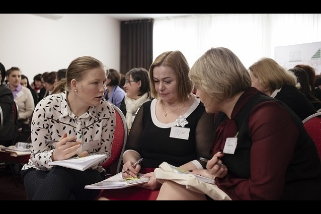 Sixty-five women leaders from various regions of the Republic of Moldova gathered in Chisinau to participate in the roundtable that started the 2019 training session of the 'Women 4 Leadership' Women's Leadership Academy