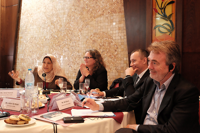 Press Release: UN Special Coordinator for the Middle East Peace Process consults with representatives of women's organizations in Gaza on their participation in decision-making on peace and security issues