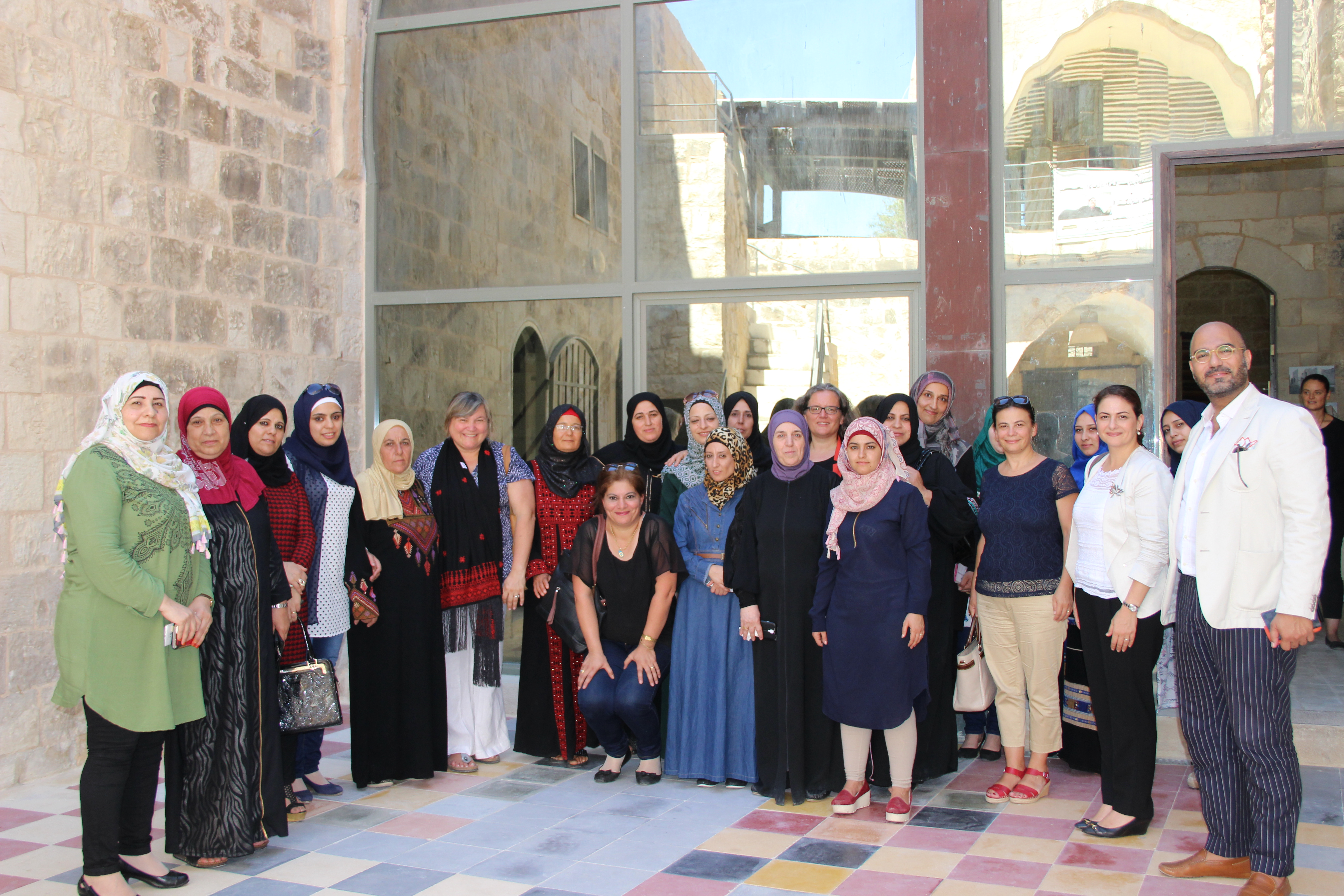 UN Women Programme Director concludes her first visit in the State of Palestine