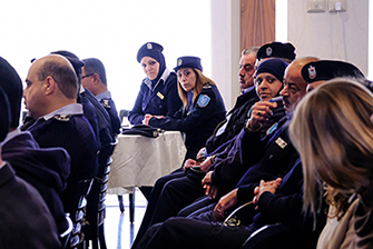 Palestinian police take new steps to widen career opportunities for women in the police