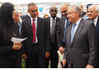 Coverage: UN Secretary-General visits One Stop Centre in Palestine to meet survivors of violence