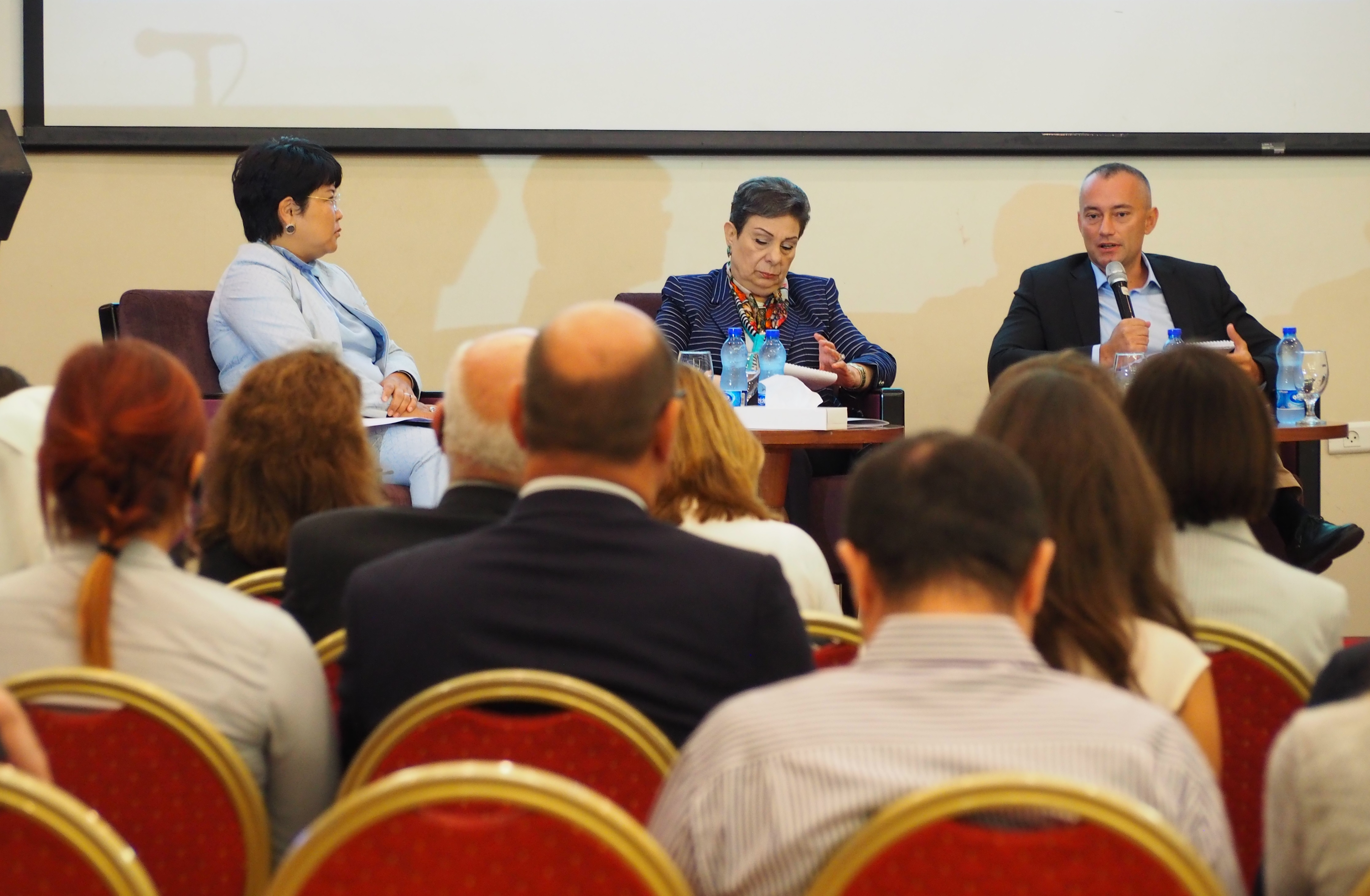 UN's Open Day Event Puts Women in the Center of Peace and Security Agenda in Palestine