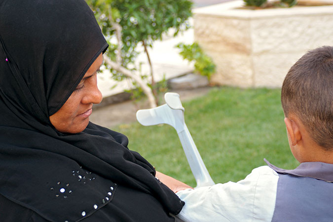 "In the words of Jana Mustafa: ""Disability should not stop anyone from starting over"""
