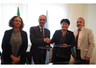 The Italian Government and UN Women sign an agreement to support women's economic empowerment in Palestine