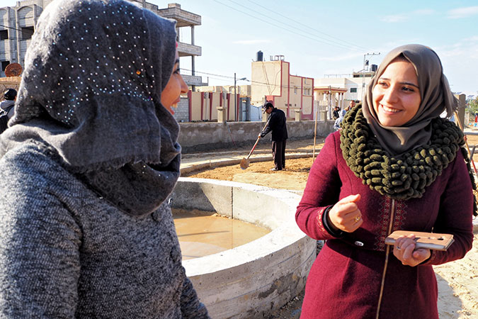 A garden for all—women and youth rebuild safe and inclusive spaces in Gaza