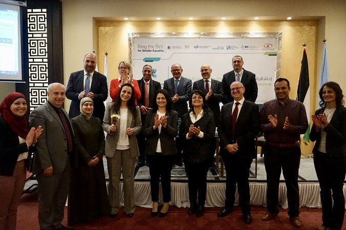 Press Release: Palestine Exchange Joins the Ring the Bell Initiative to Promote Gender Equality in Private Sector