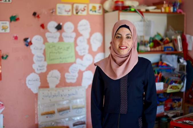 Hanaa' Rajeh Al Farajeen: Building a better future for Bedouin women and girls