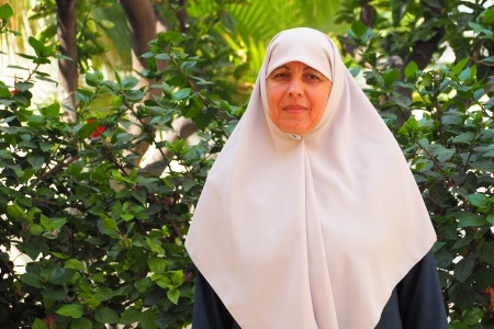 Zinat Hmaidya: Helping bereaved women in Gaza