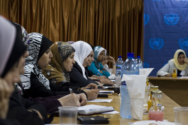 Open Day in Gaza in 2010 (photo: UN Women)